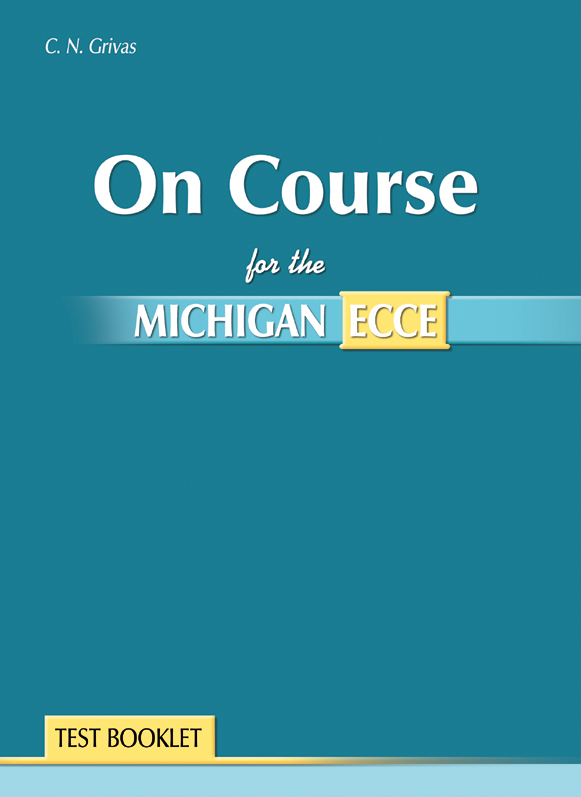 On Course for the Michigan ECCE (Test Book)